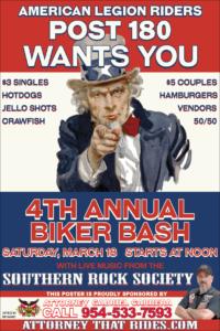 American legion post 180 biker bash