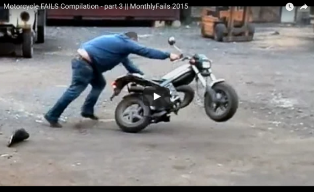 Friday Motorcycle Fails