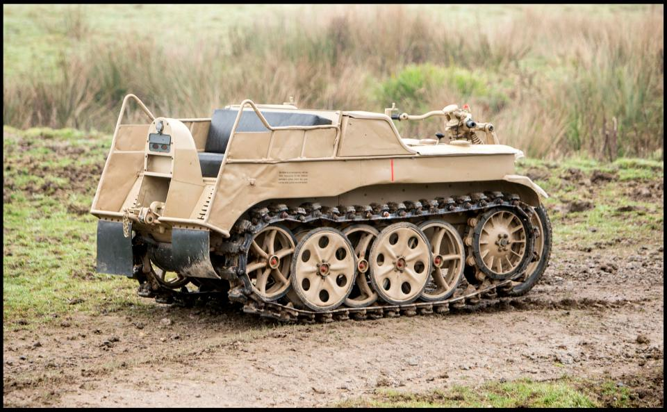 nazi tank motorcycle sold