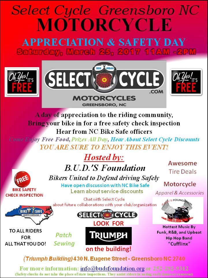 select cycle b.u.d.'s foundation