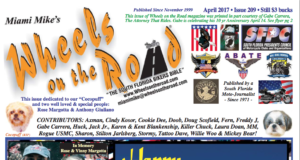 Wheels on the road april 2017
