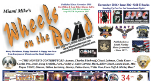 wheels on the road december 2016