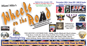 Wheels On The Road Nov Issue 2016