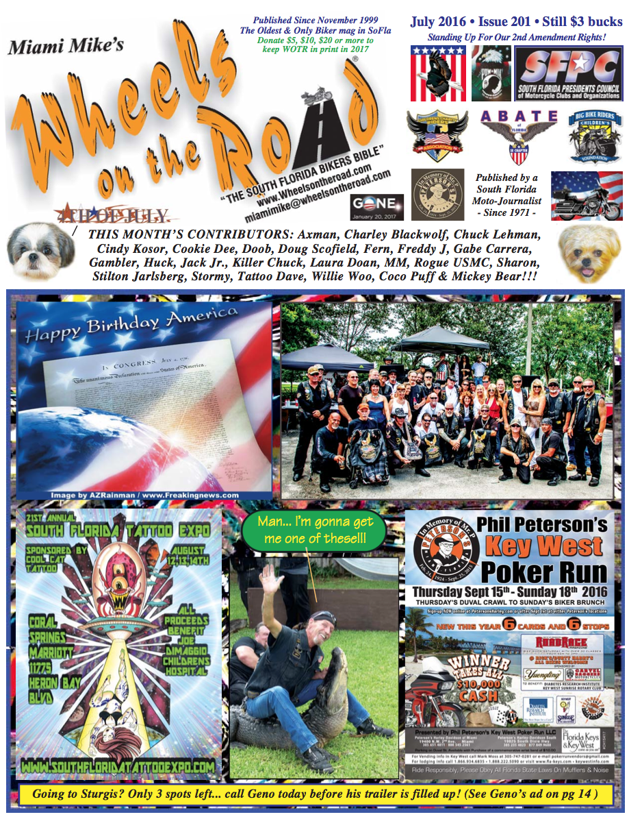 Wheels On The Road July Issue 2016