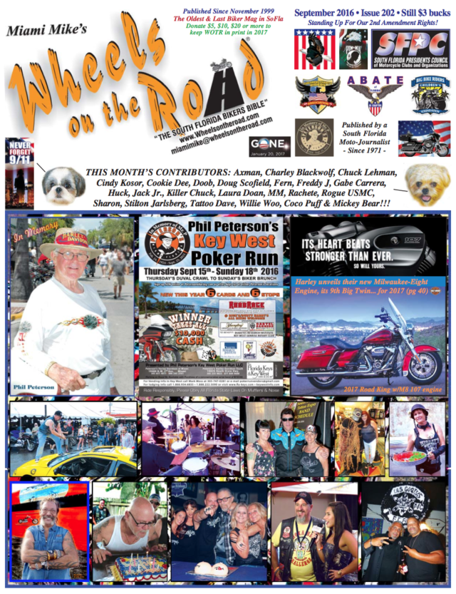 Wheels On The Road Sept Issue 2016