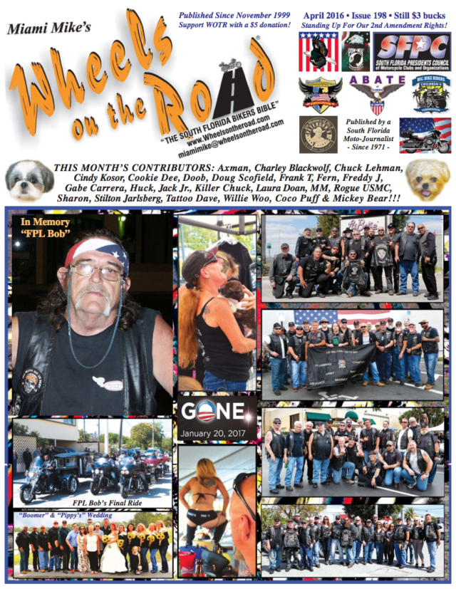 Wheels on The Road April Issue 2016