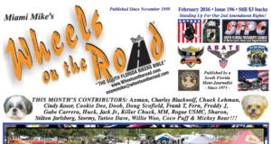 Wheels on The Road February Issue 2016