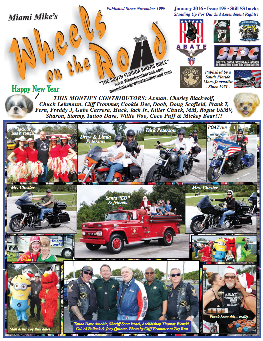 Wheels on The Road Jan Issue 2016