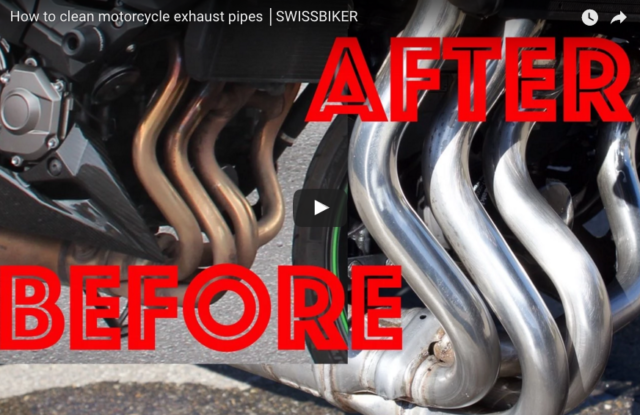 Clean Your Exhaust Pipes