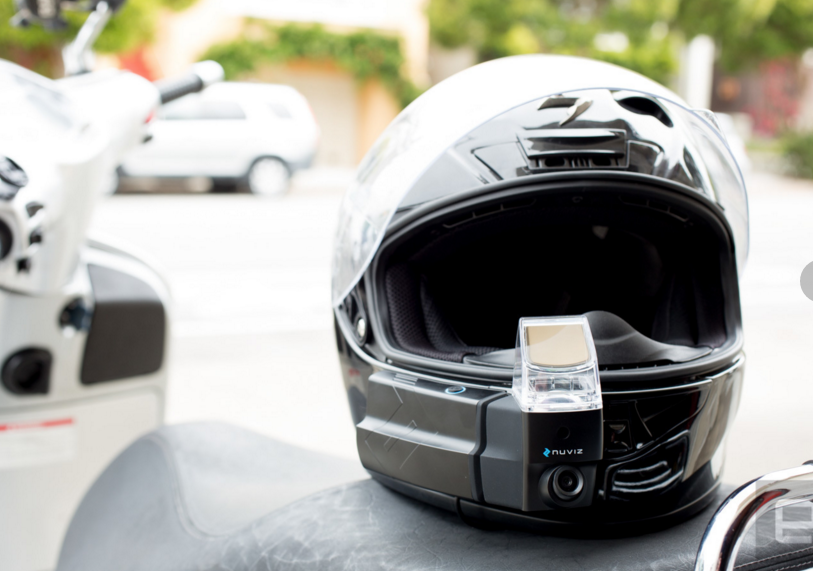 Heads-Up Display front view
