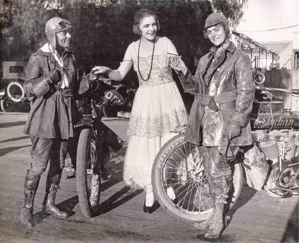 First Cross-Country Motorcycle Trip By Women