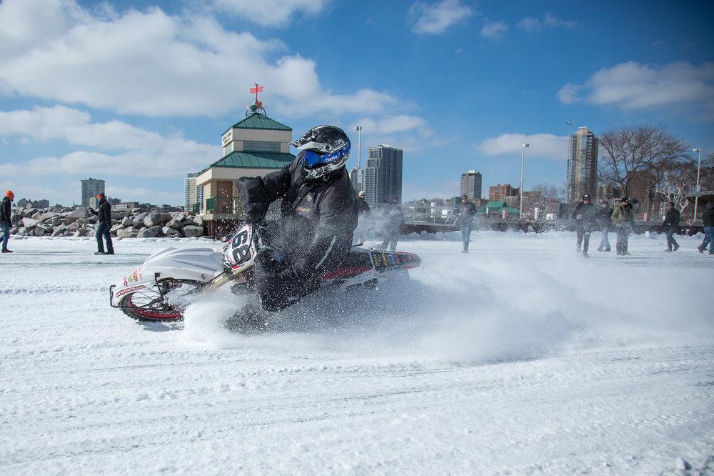 Mama Tried Ice Racing