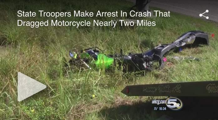 State Troopers Make Arrest On Motorcyclist Dragged Case