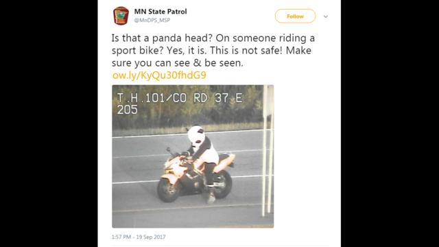 panda biker