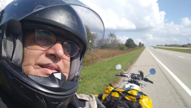 solo motorcycle trip